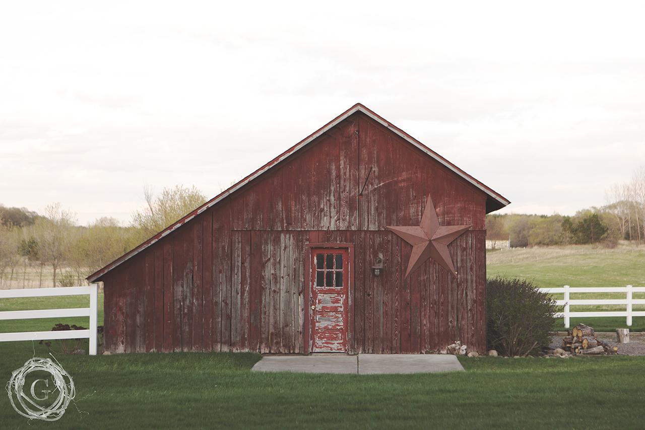 red barn, shed, hobby farm, Afton Minnesota, Avonlea Farm